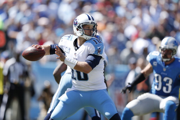 Barring setback, Titans' Locker will start vs. 'Fins