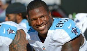 DE Kamerion Wimbley Wants to Stay with Tennessee Titans