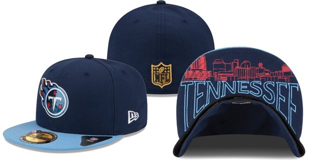 2015 Tennessee Titans Draft Hats