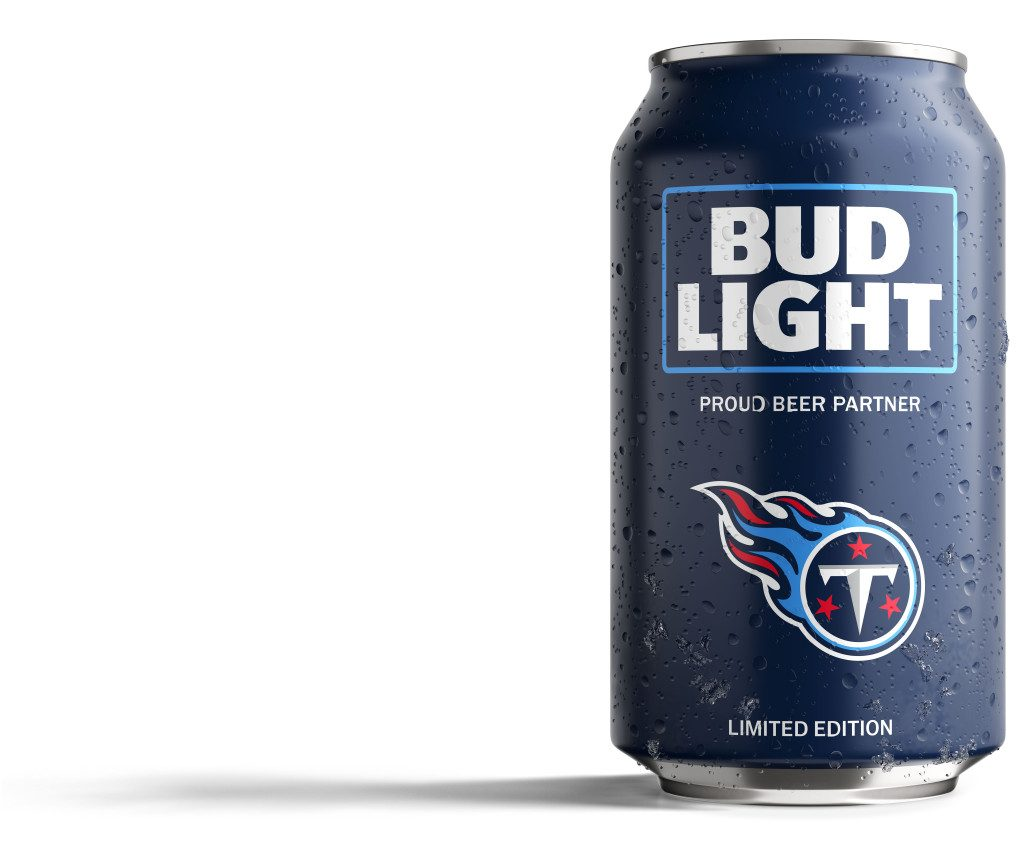 Bud Light Titans Can
