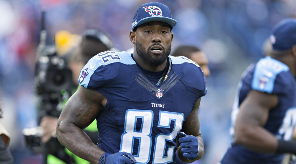 Titans TE Delanie Walker Says They Will Shock the World Saturday Against the Patriots