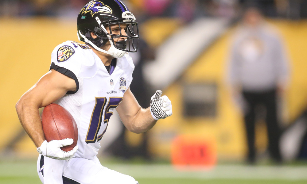 Titans Agree to Terms with Former Ravens WR Michael Campanaro