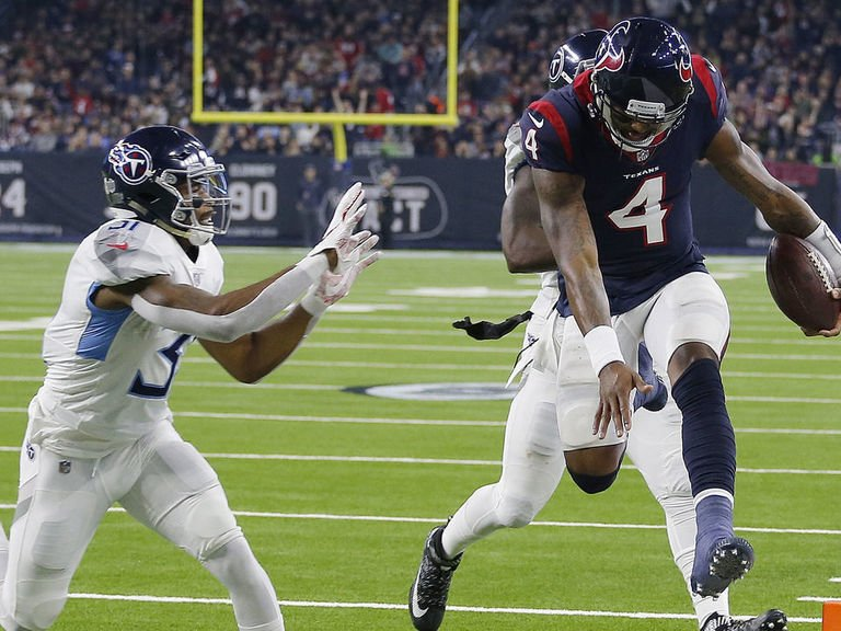 Texans Runaway From Titans; Overcome Early Tennessee Lead in 34-17 Beatdown