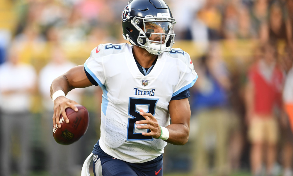 Titans QB Marcus Mariota Limited in Wednesday Practice as Team Prepares for Texans