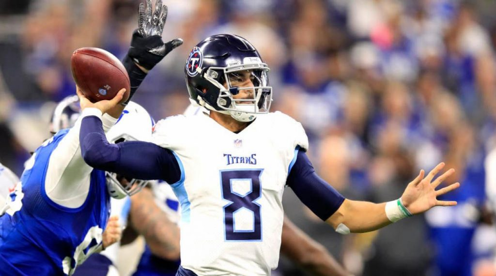 Titans Quarterback Marcus Mariota Suffers Elbow Injury in Loss to Colts